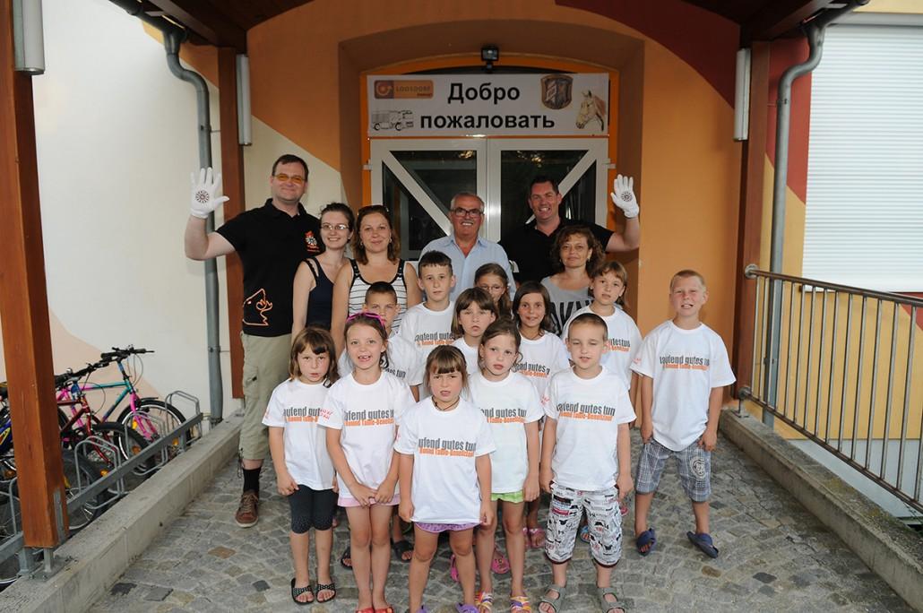 Ukrainische Waisenkinder in Loosdorf