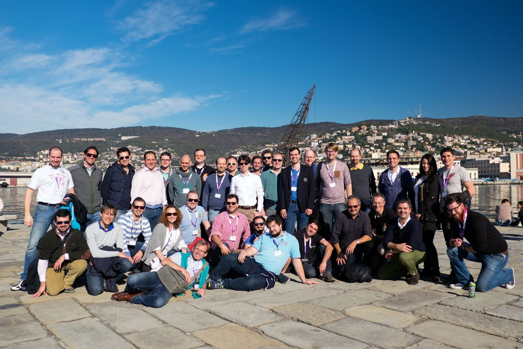 Gruppenfoto IRO Meeting 2015 Triest