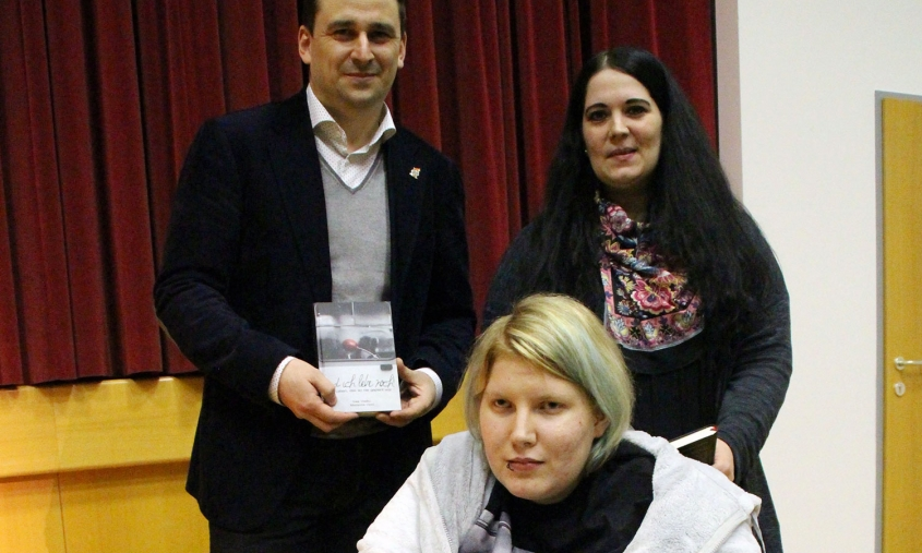 Ines Vasku, Marianne Honl und Harald Froschauer bei der Buchpräsentation